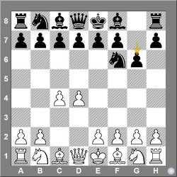 E60-E99 1. d4 Nf6 2. c4 g6 King's Indian defence