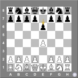 C00-C19 1. e4 e6 French defence